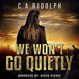 We Won't Go Quietly audiobook cover art