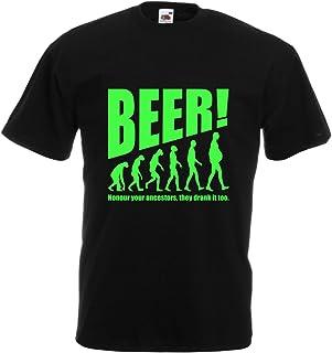 lepni.me Camisetas Hombre The Beervolution - Ideas