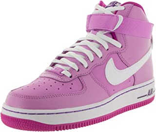 NIKE Kids Air Force 1 High (GS) Basketball Shoe