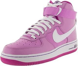 NIKE Air Force 1 High Youth Round Toe Black Basketball Shoe