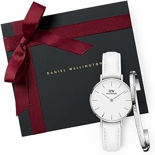 Daniel Wellington Women's Quartz Watch analog Display and Leather Strap, DW00500065