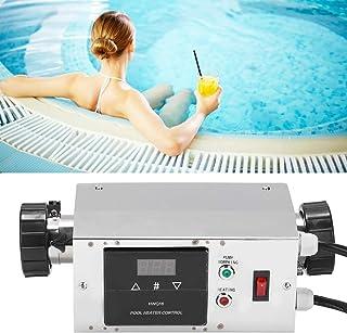 Calentador de piscina, calentadores de piscina para piscinas sobre el suelo Controlador de temperatura de calentador de pi...