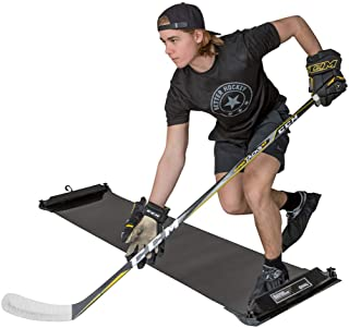 Better Hockey Extreme Slide Board Pro – Helps You Win The Race to The Puck - Adjustable Length - Comes with 3 Pairs of Booties in Size S, M and L - Used by The Pros
