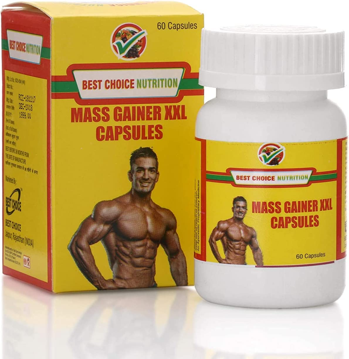 Valocity Best Choice Nutririon Mass Gainer XXL OFFicial store for Fa Capsule Max 86% OFF 60
