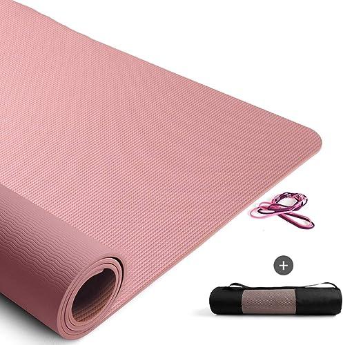 Tapis De Yoga pour Débutants élargis épaissis Longs Hommes Et Femmes Tapis De Fitness Tapis De Yoga Antidérapant Trois Pièces