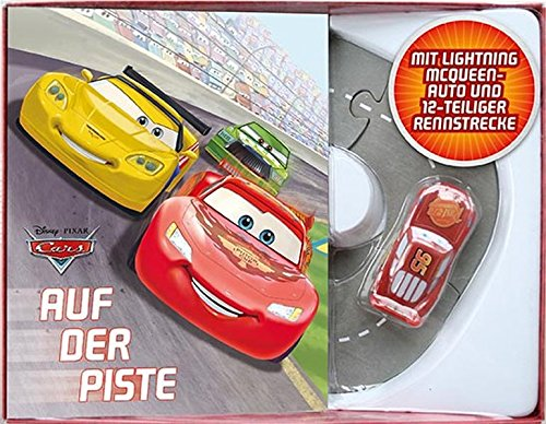 Disney/Pixar Cars Boxset: Auf der Piste!: Buch mit Spielzeugauto & Rennbahn