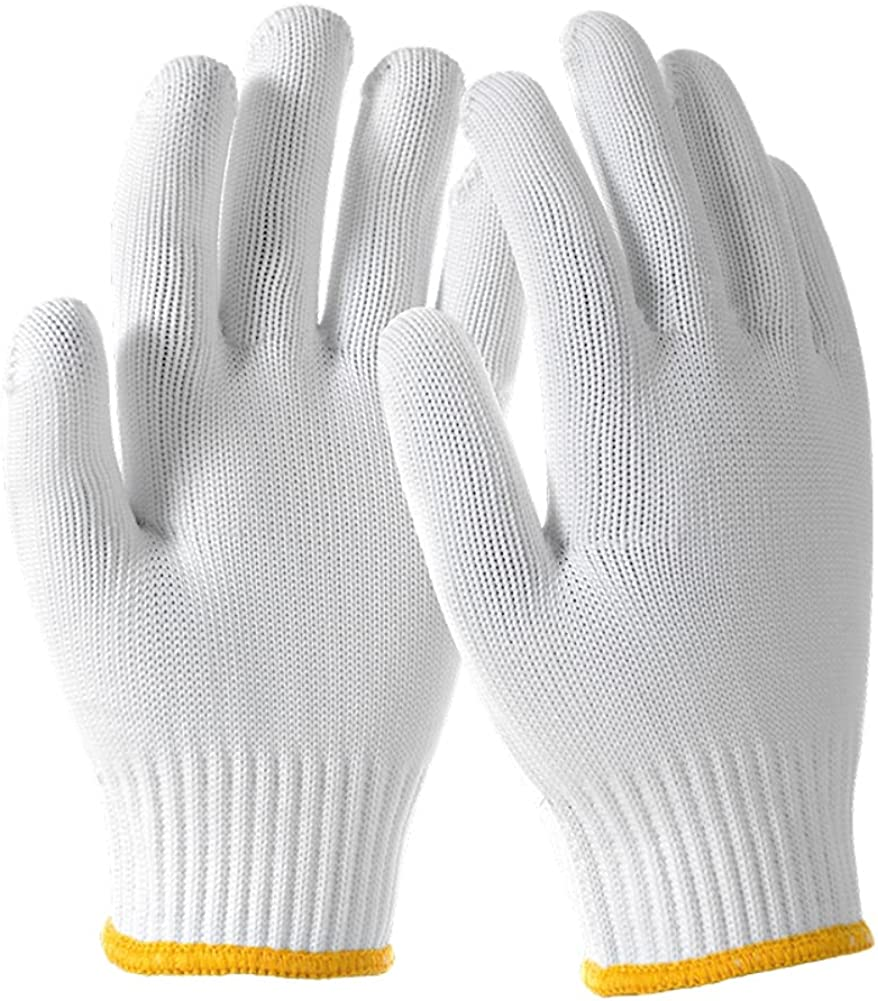 Deli Spasm price Tools Safety Luxury Work Heavy Duty Gloves 12pairs