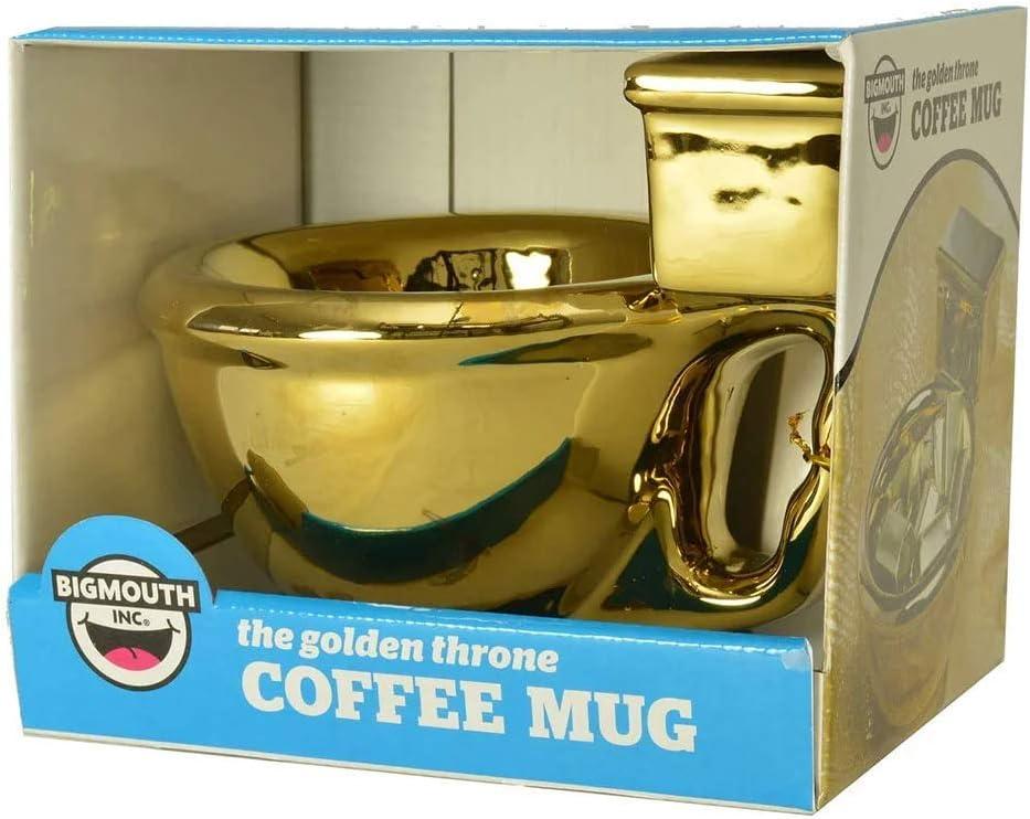Schöne Kaffeetasse in Gold für Arbeitskollegen