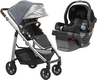 UPPAbaby Full-Size Cruz Infant Baby Stroller & MESA Car Seat Bundle, Gregory/Jake