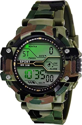 Army Shockproof Waterproof Digital Sports Watch For Men S Kids Sports Watch For Boys Military Army Watch For Men
