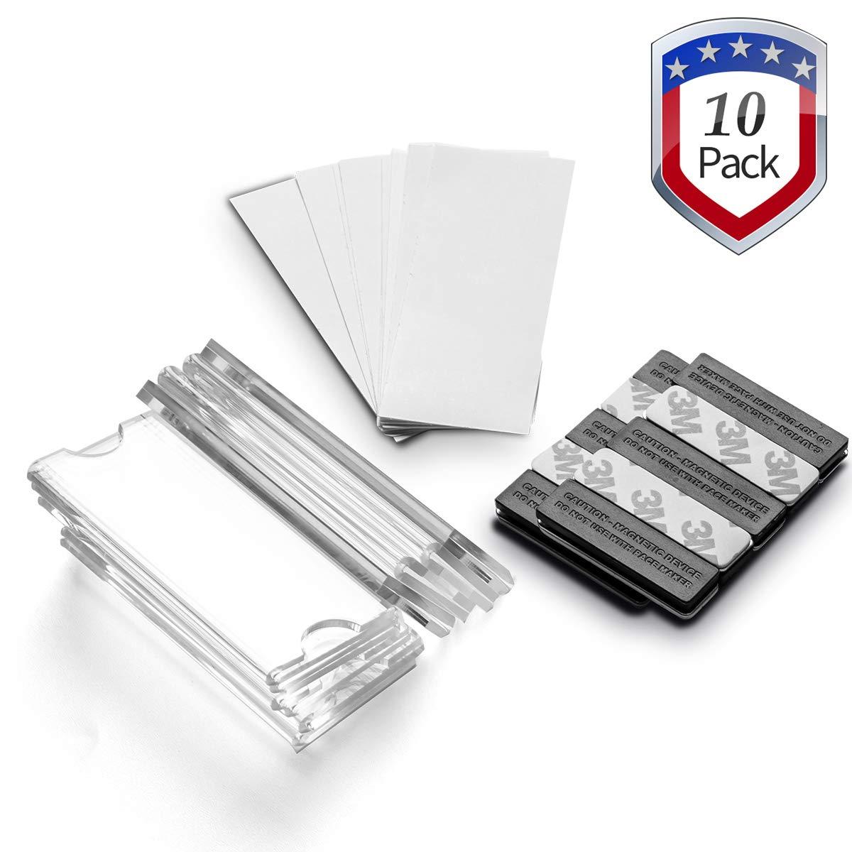 Magnetic Neodymium Adhesive Printable Business