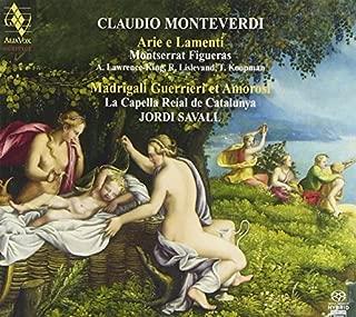 Monteverdi: Arie et Madrigali (Montserrat Figueras/Jordi Savall) by Montserrat Figueras (2011-11-08)