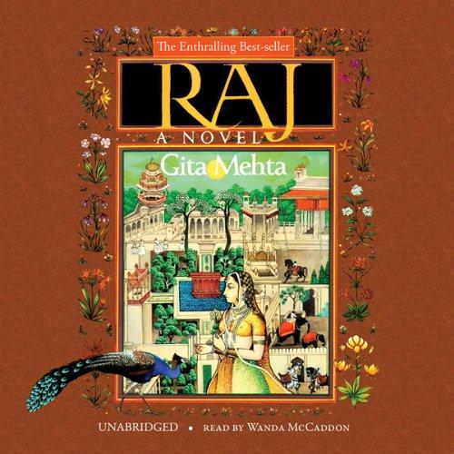 Raj audiobook cover art