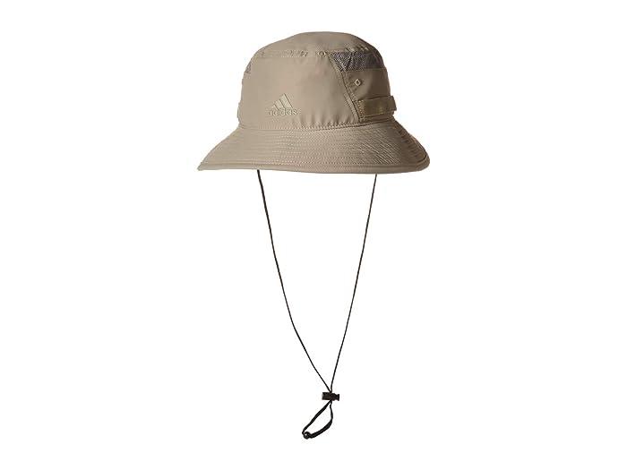 adidas  Victory III Bucket Hat (Feather Grey) Caps