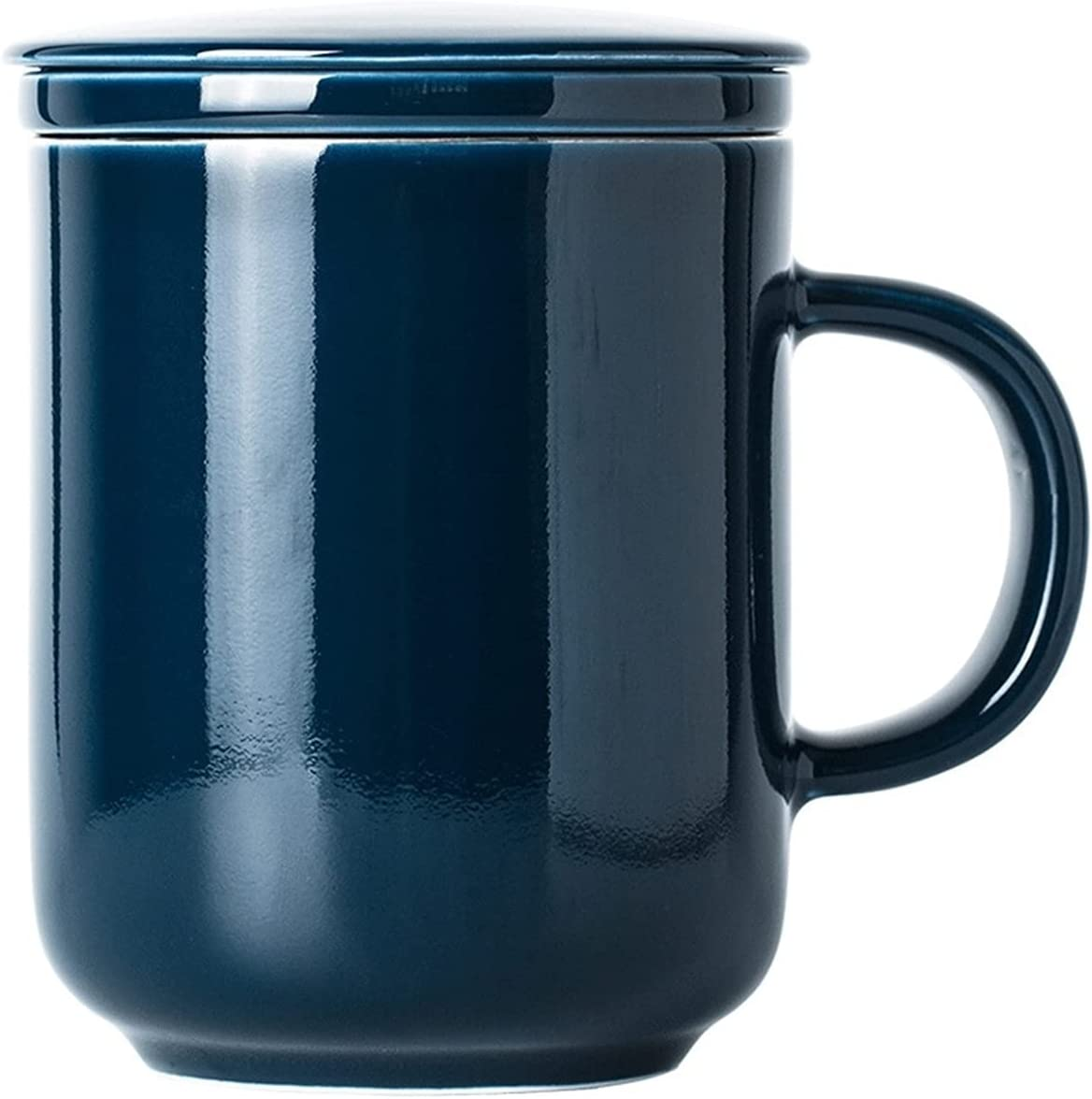 Houston Mall Tea Mug with Infuser 10.5 Cup Glazed Stoneware Ceramic Ounce Limited price