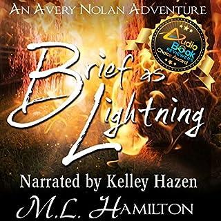 Brief as Lightning audiobook cover art