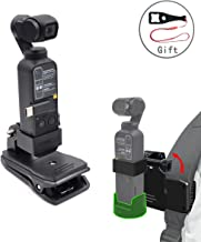 KOKITEA Osmo Pocket Mount Tripod Backpack Clip for DJI OSMO Pocket Accessories Compatible OSMO Pocket Wireless Module (Gift Wrench Tool)