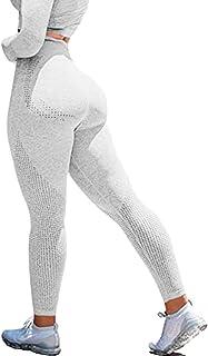 Women High Waist Seamless Leggings Scrunch Hollow Gym Tight Butt Lift Yoga Pants