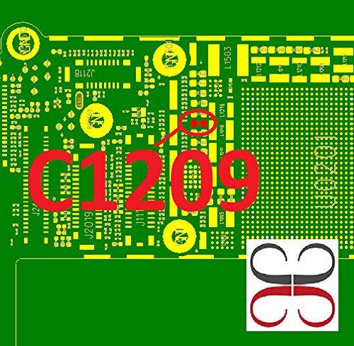 Gigabue C1209 15UF 20% 6.3V X5R Backlight Solution IC Chip para placa base para iPhone 6