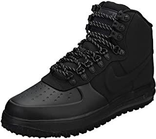 Men's Luna Force 1 Duckboot '18 Sneaker Boots (10, Black/Black/Black)
