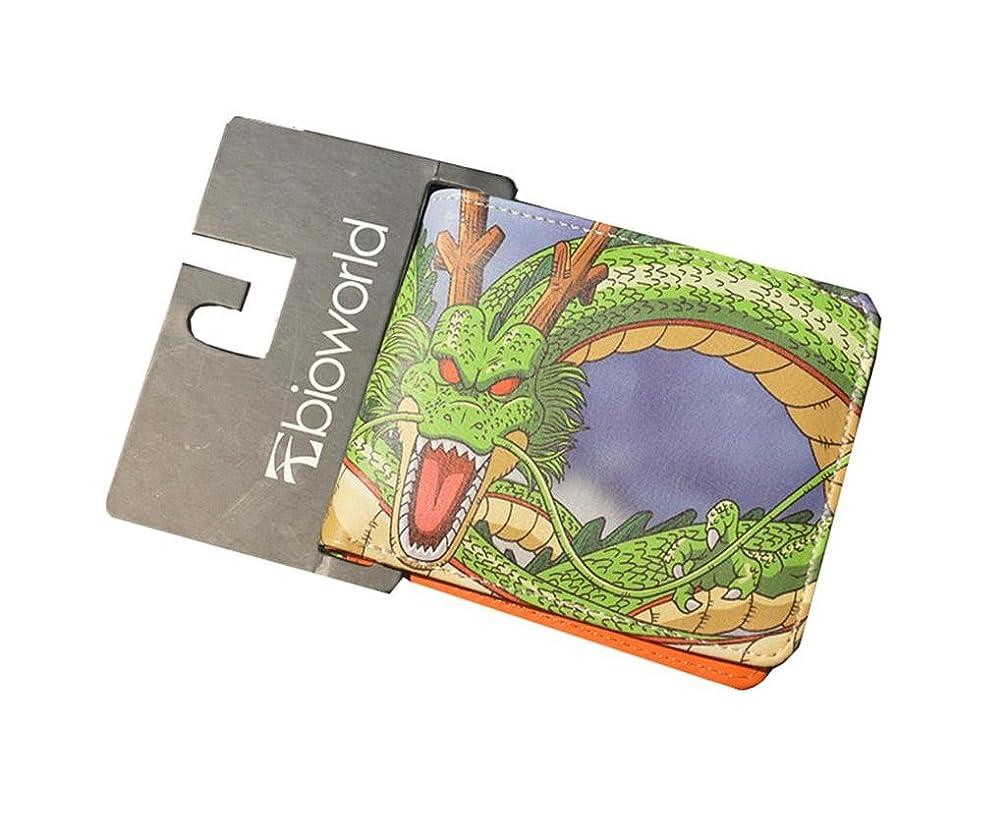 あいまい勇気正気Dragonball Z文字二つ折りメンズBoys Wallet w/ギフトボックスby Athena