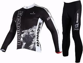 Hillento Man Cycling Quick-Dry Biking Long Sleeve Jersey