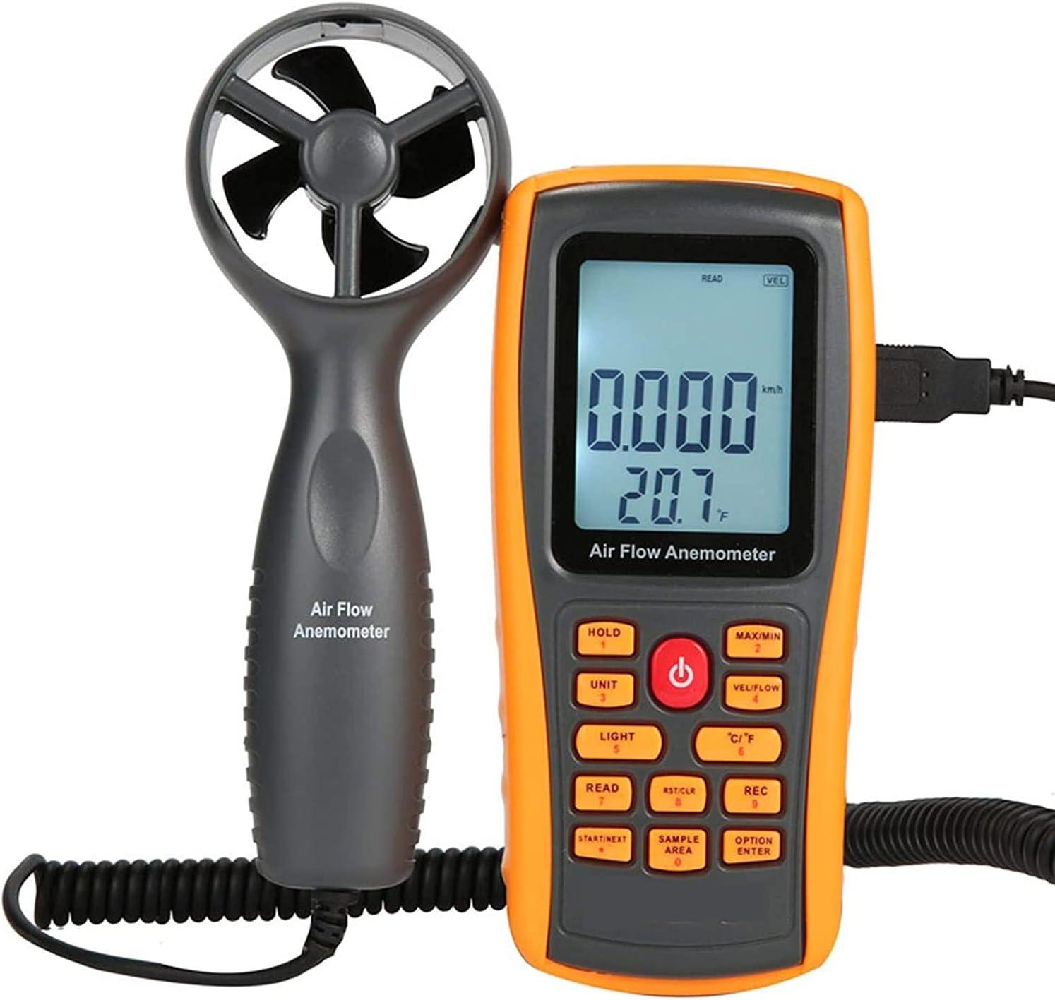 HANJIANFEI Anemometer Handheld Wind Measures Portland Mall Gauge Meter Speed Super Special SALE held