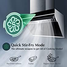 """FOTILE JQG7505 30"""" Under-Cabinet or Wall-Mount Range Hood 