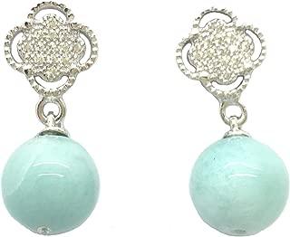 larimar earrings from dominican republic