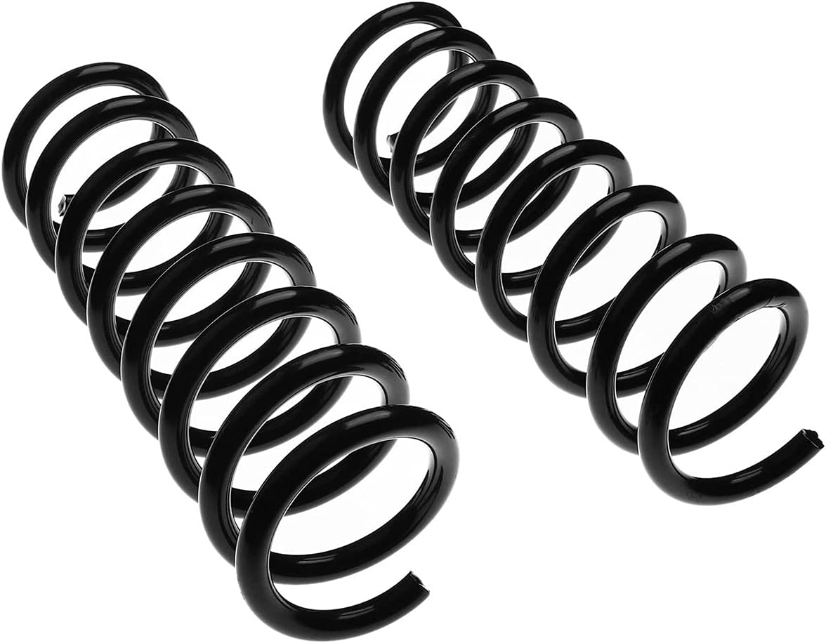 Set of 2 Front Side Coil Springs for Merce Manufacturer regenerated product Free Shipping New 1997-2004 Replacement