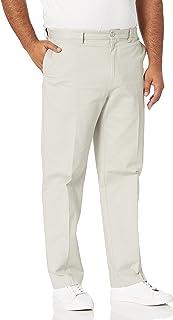 Savane mens ECO-START™ Flat-Front Dress Khaki Pant Casual Pants