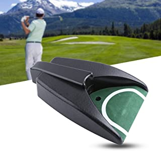 Wbestexercises Golf Automatic Putting Cup, Golf Putt Cup Auto Returning Machine Golf Ball Return Putting Mat Golf Training Aid for Indoor Outdoor Yard Office Practice