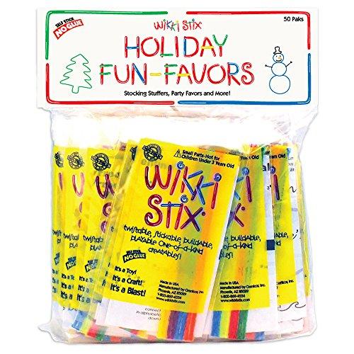 WikkiStix Holiday Fun Favors