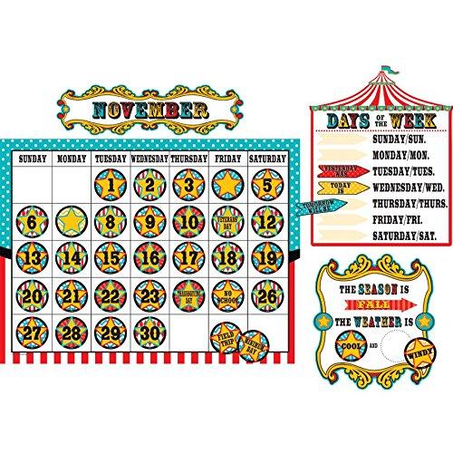 Teacher Created Resources Carnival Calendar Bulletin Board (5720)