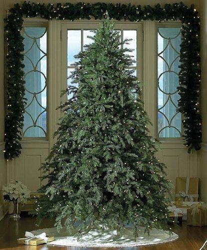 Bethlehem Lighting GKI Pre-Lit Down-Swept Hunter Fir Full Artificial Christmas Tree with Clear Lights, 6.5'