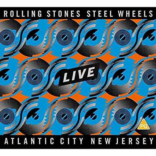 The Rolling Stones - Steel Wheels Live [2CD+ Blu-Ray SD upscalée]