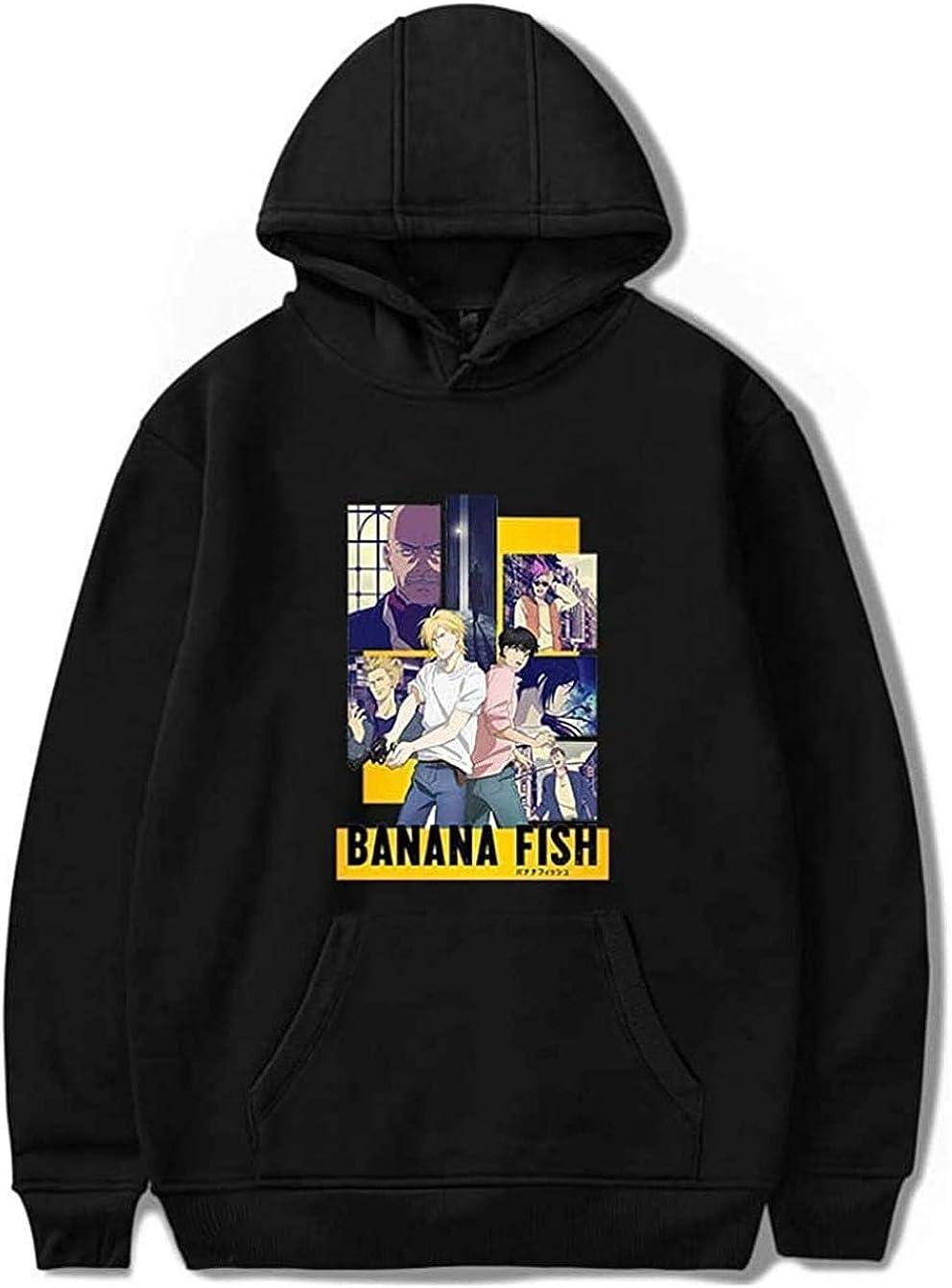 Banana Fish Anime Trust Jeans Hoodies Ash Women Lynx Sweatshirt Super intense SALE Haraju