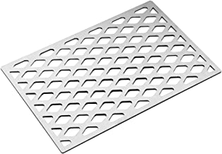 Stanbroil Cast Stainless Steel Diamond Pattern Cooking Grill Grate Fits Weber Sprit 300 Series Grills