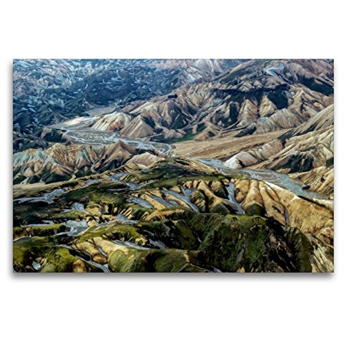 Premium Textil-Leinwand 120 x 80 cm Quer-Format Moos und Rhyolith | Wandbild, HD-Bild auf Keilrahmen, Fertigbild auf hochwertigem Vlies, Leinwanddruck von Klaus Ratzer