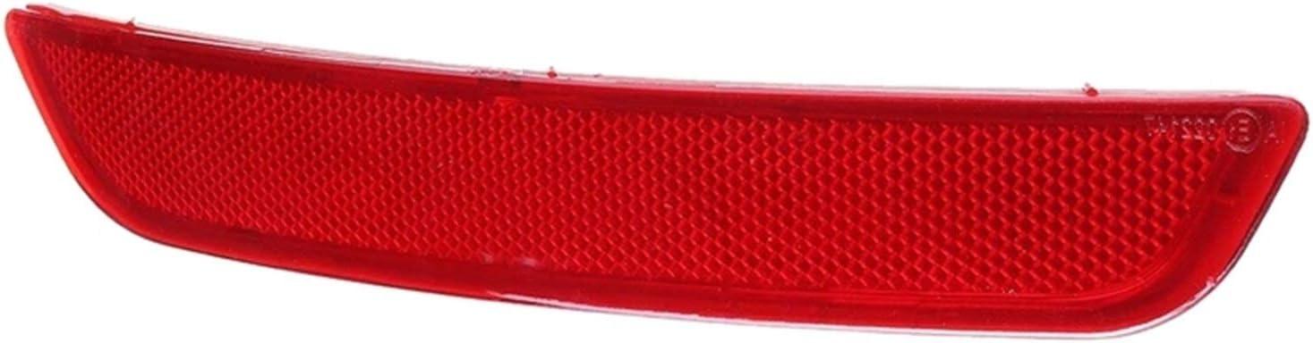 Color : Red Shipe/® Riflettore paraurti Posteriore Auto Adatto per Ford Mondeo MK4 2007-2010