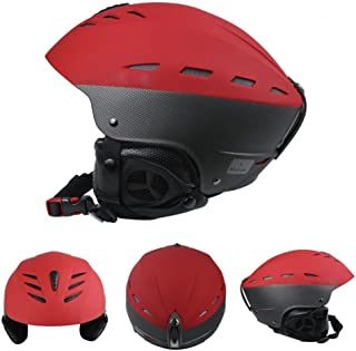 LANOVA スキー ヘルメット 冬春用 適用頭囲 55-57CM