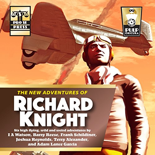 The New Adventures of Richard Knight audiobook cover art