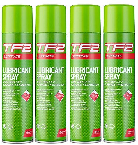 Unbekannt TF2mit Aerosol-Spray (400ml), mit Teflon®-Set mit 1, 2, 4, 6oder 12, 4 x 400ML Cans