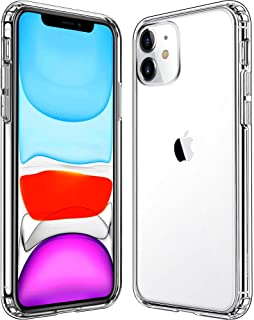 Mkeke Compatible with iPhone 11 Case, Clear iPhone 11 Cases Cover for iPhone 11 6.1 Inch (Renewed)