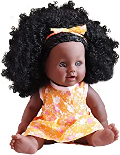 4e5beaf37ed 12 Pouces Bébé Reborn Poupées Afro-américaine Réalistes Poupée Pour Enfants  Jouets Pour Enfants Poupée