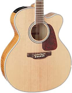 Takamine 6 String Acoustic-Electric Guitar, Right Handed, Natural (GJ72CE-NAT)