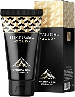 Funty Titan Gel Gold Enhanced Exercise Massage Enlargement Extender Cream Delay Bigger and Thickening Products