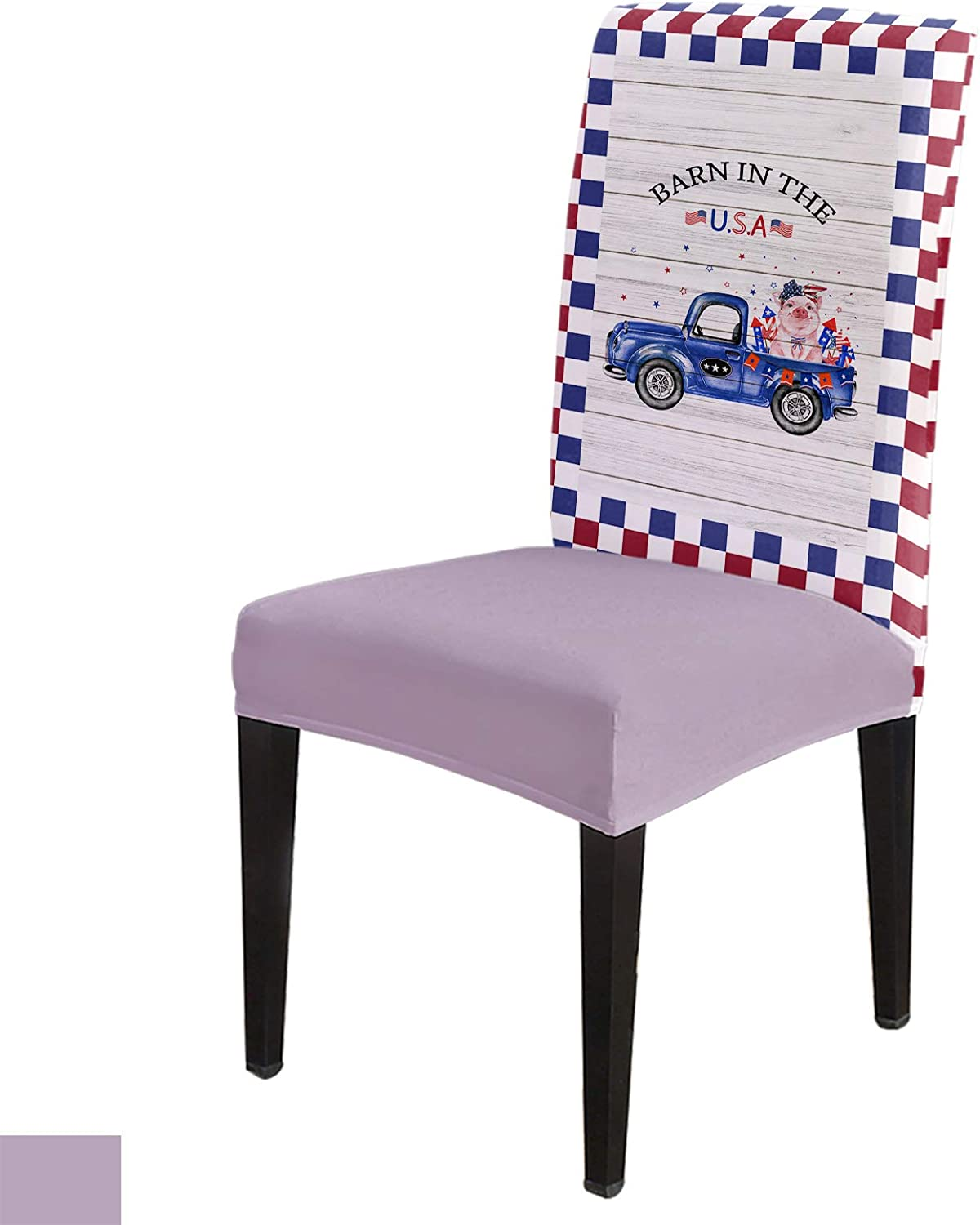Stretch Chair Covers for Dining 6 Removable Room Set of 40% OFF Indianapolis Mall Cheap Sale