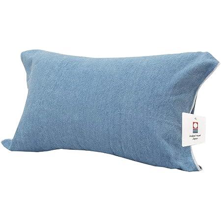昭和西川 日本製 今治 認定 タオルピローケース 枕カバー 様々な枕に使えるのびのびタイプ ご家庭で洗濯OK&抗菌防臭加工 汗や洗濯での速乾性◎ まくらかばー ぴろーけーす 42x70x1cm ブルー 2272833300314