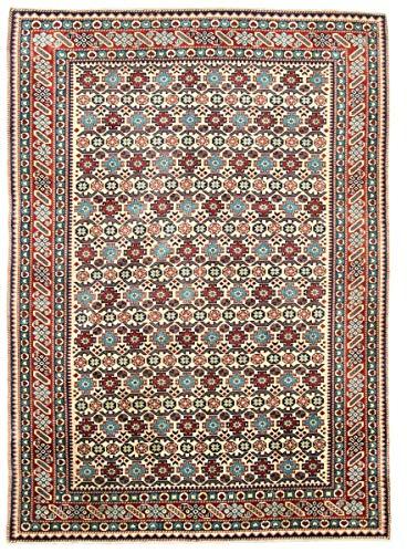 Nain Trading Shirvan 213x157 Orientteppich Teppich Braun Handgeknüpft Pakistan
